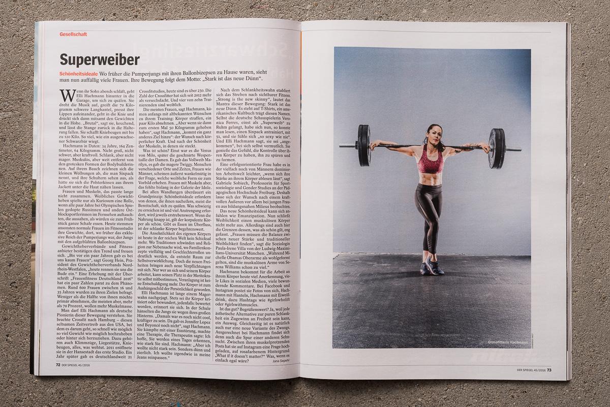 Referenzen: Superweiber - Der Spiegel 45/2016 05.11.2016