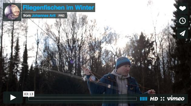Fliegenfischen Im Winter