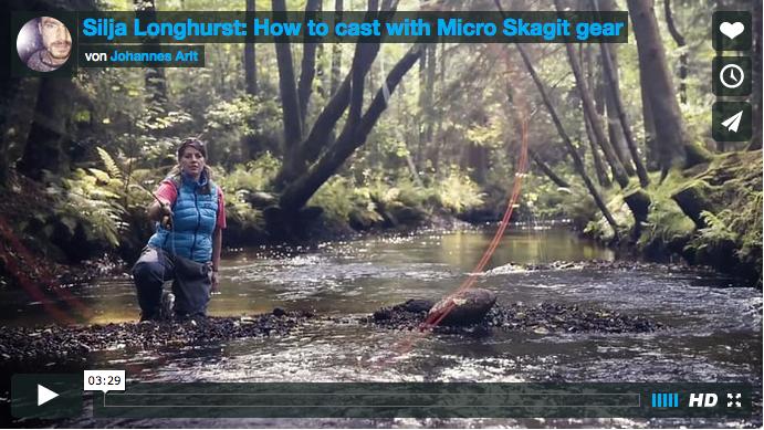 Fliegenfischen: Micro Skagit
