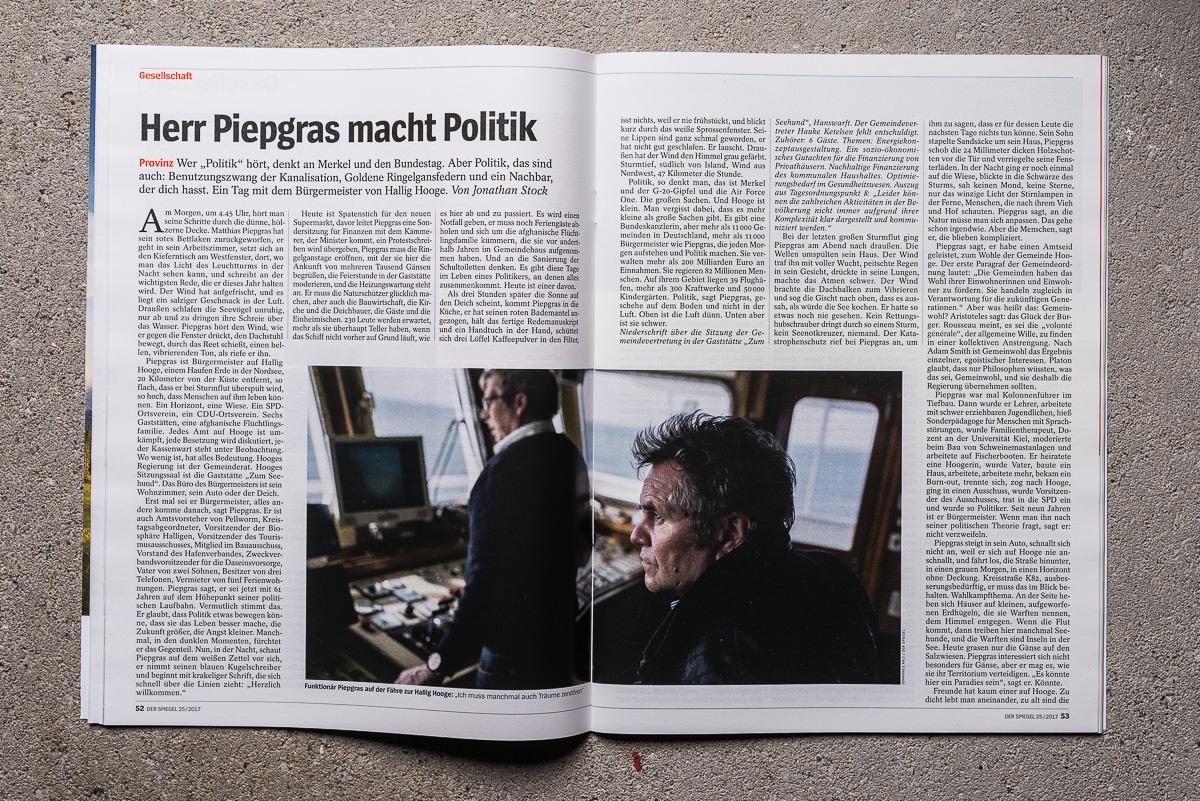 Herr Piepgras Macht Politik.